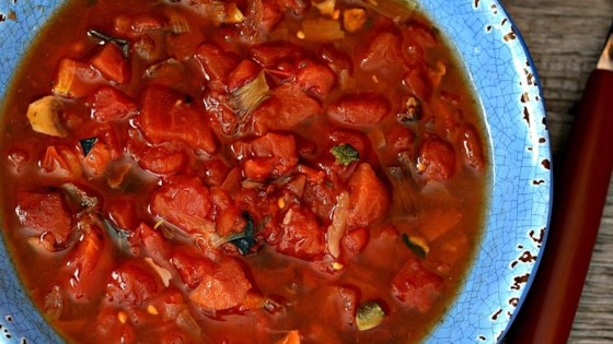Ryan's Quick Tomato Vegetable Soup