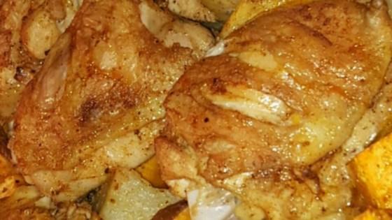 Chicken Sweet Potato Skillet