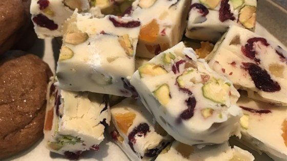 Trail Mix White Fudge