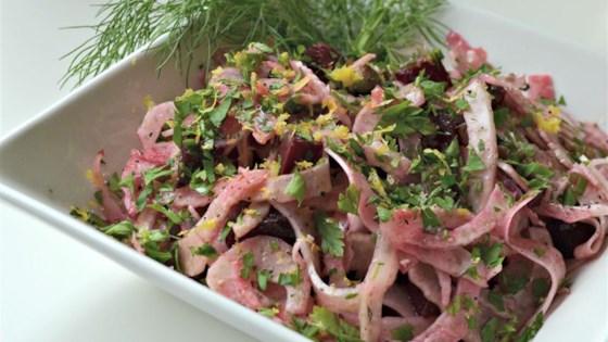 Fantastically Easy Fennel Salad
