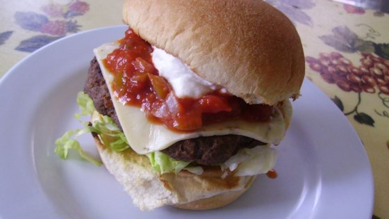 Sizzling Southwest Burgers