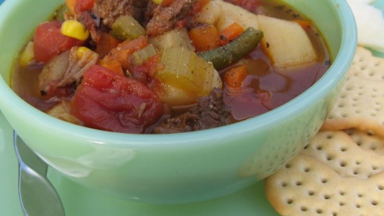 Vegetable Beef Soup II