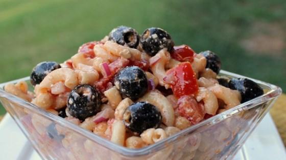 Chickpea Macaroni Salad