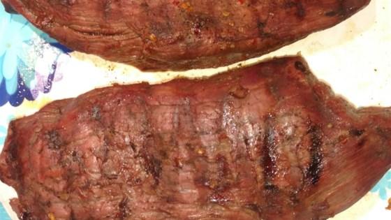Emily's Marinated Venison Steaks
