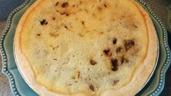 Buttermilk Raisin Pie