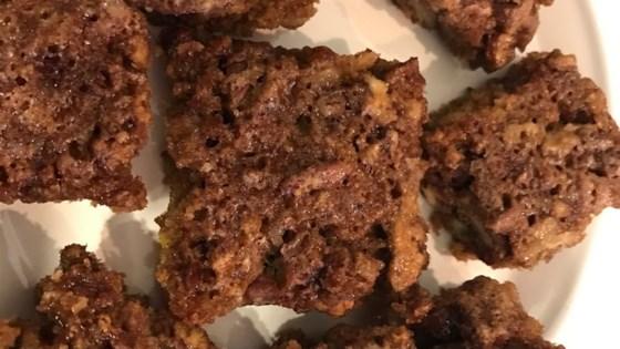 Chewy Pecan Pie Bars