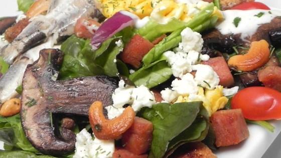 Spam™-a-licious Not-So-Caesar Salad