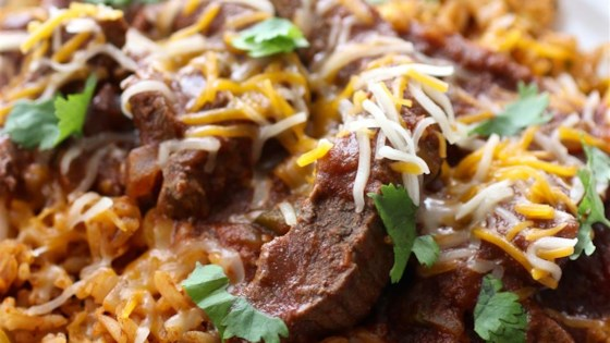 Fiesta Chili Beef and Rice