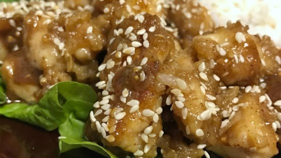 Chinese Restaurant-Style Sesame Chicken