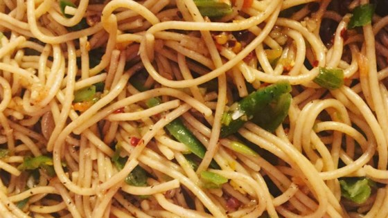 Spicy Sesame Noodle Salad