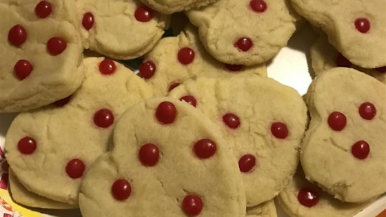 Red Hot Sugar Cookies
