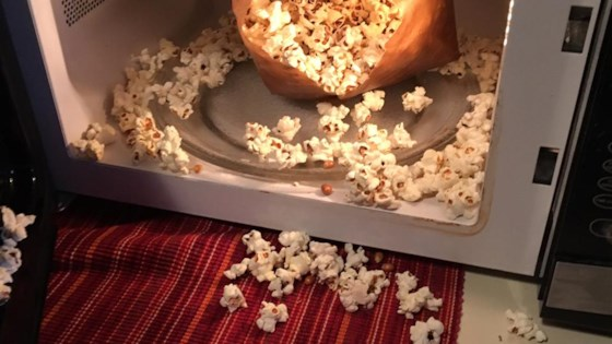 Image result for microwave popcorn pic