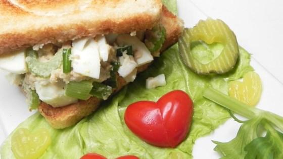 Yolkless Egg Salad