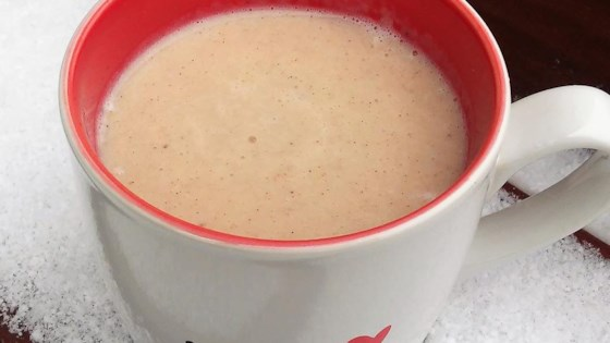 Hot Banana Milkshake