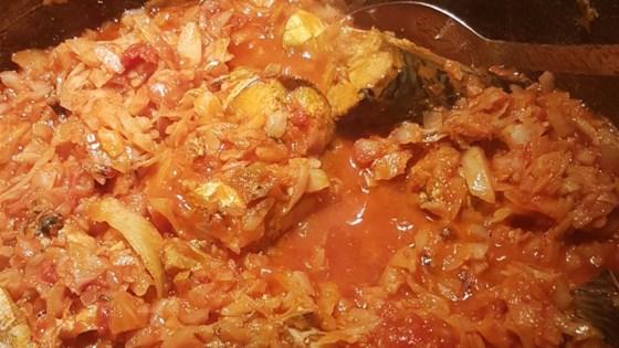African Cabbage Stew