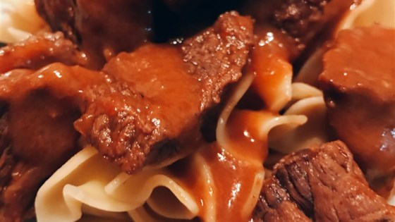 Beef Paprika and Noodles