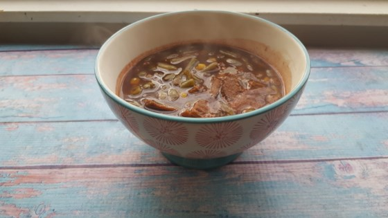 Leftover Roast Brunswick Stew
