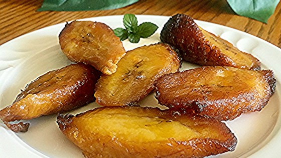 My Mum-In-Law's Lightly Fried Plantains