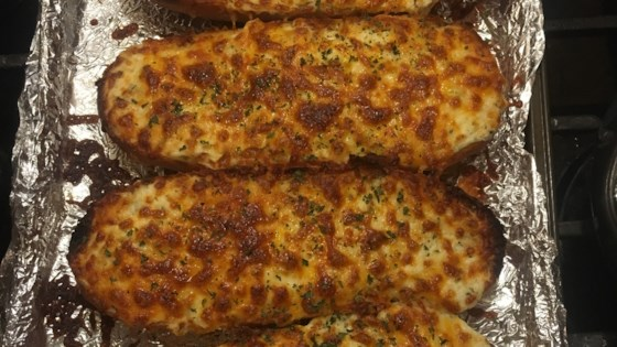 The Most Incredible Garlic Bread