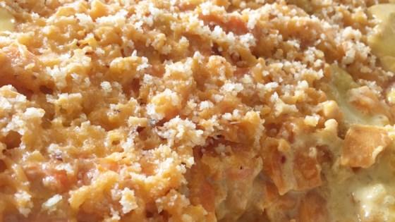 Scalloped Sweet Potatoes Au Gratin
