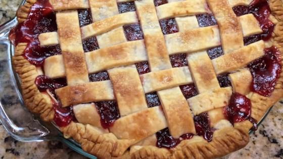 Cranberry Cherry Pie