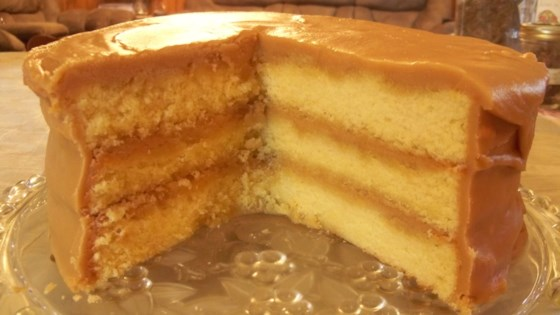 Old School Caramel Cake Recipe