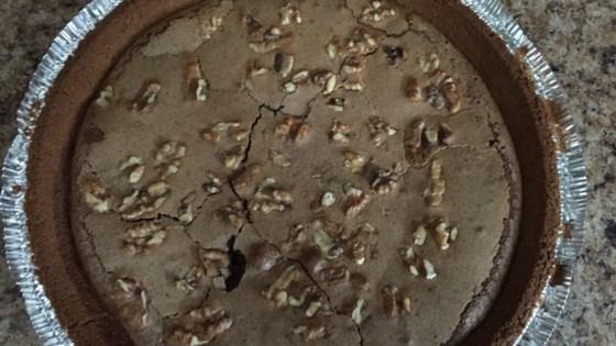 Dark Chocolate Buttermilk Pecan Pie