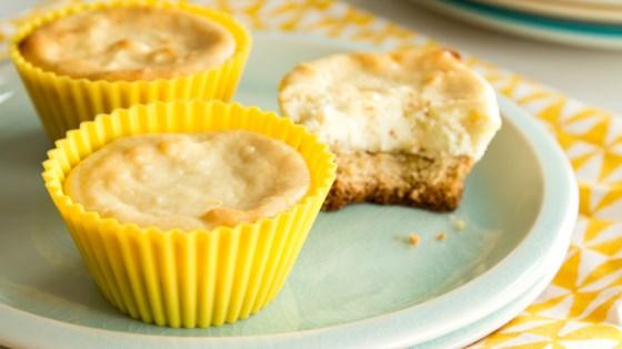 Lemon Goat Cheese Cheesecake Bites (Gluten Free Optional ...