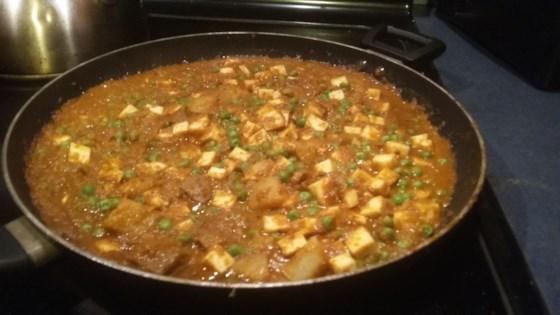 recipe: aloo matar paneer (simmered potatoes with peas and paneer) [1]