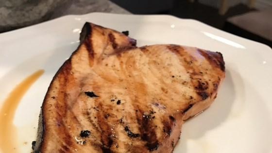 Grilled Marinated Swordfish