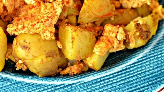 Spicy Potatoes And Scrambled Eggs Recipe Allrecipes Com
