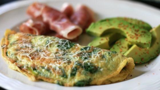 Baby Spinach Omelet Recipe - Allrecipes.com