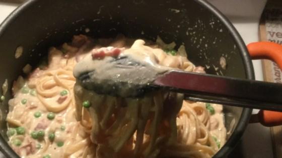 Quick and Creamy Pasta Carbonara