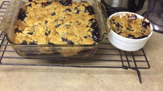 Grammy's Easy Blackberry Cobbler
