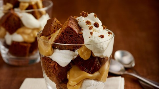 Gingerbread Butterscotch Trifle Recipe