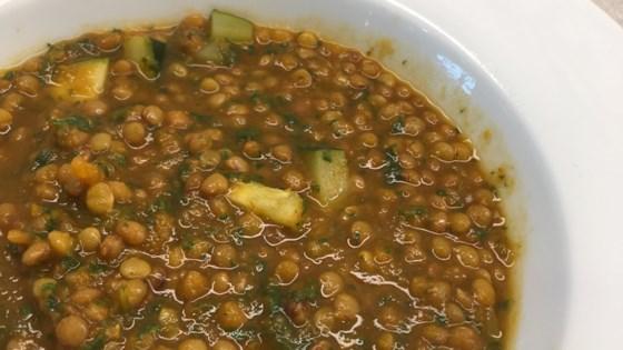 Moroccan Lentil Soup with Veggies