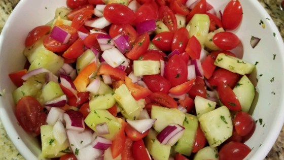 California Style Israeli Salad