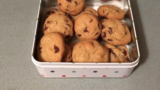 Golden Chocolate Chip Cookies