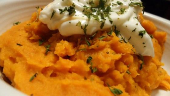 Mashed Sweet Potatoes Recipe Allrecipes Com