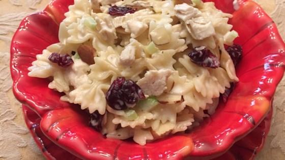 Cranberry and Almond Pasta Salad