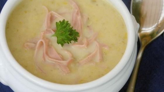German Leek and Potato Soup