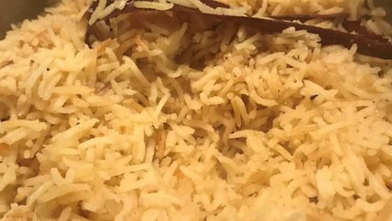 Simple Spiced Rice
