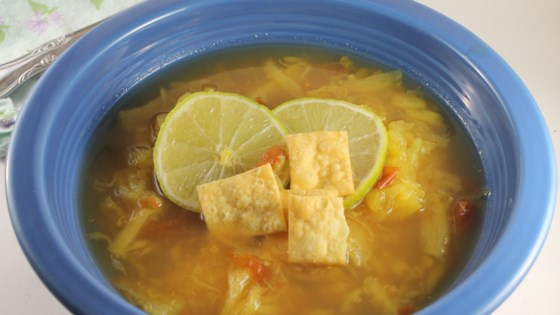 Pineapple, Lime, and Ginger Soup