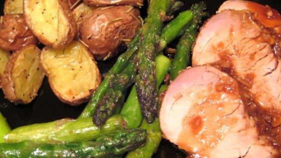 Asian-Glazed 'Melt-in-Your-Mouth' Pork Tenderloin