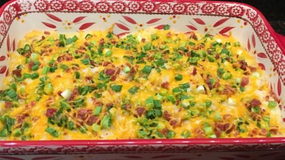 Easy Loaded Baked Potato Casserole Recipe Allrecipes Com
