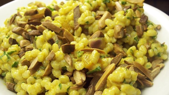 Barley Salad With Almonds And Apricots