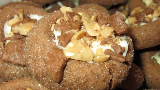 Santa's Chocolate Thumbprint Cookies