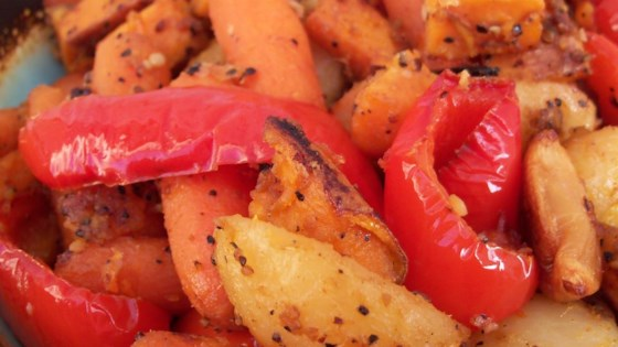 Absolutely Delicious Baked Root Vegetables