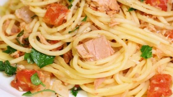Pasta With Tuna Sauce Recipe - Allrecipes.com