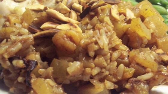 Pumpkin Rice with Apricots
